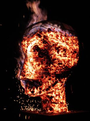 Photo of Hot Head sculptural charcoal brazier
