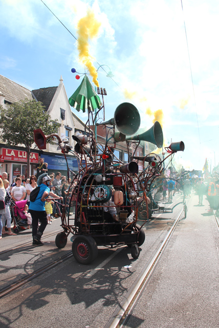 The Hurly Burly in action at Spare Parts Parade 2016