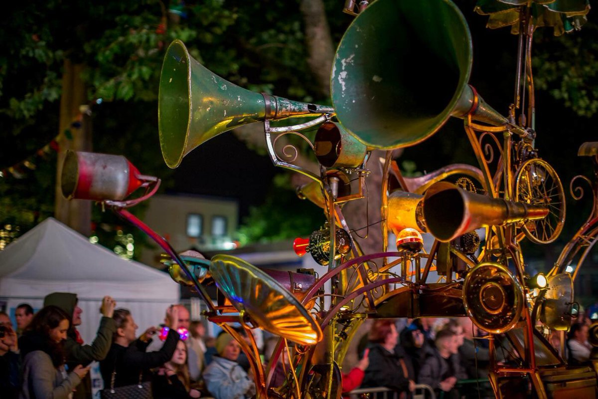 Photo by Preston Photographic Society at Lancashire Encounter procession of light September 2016