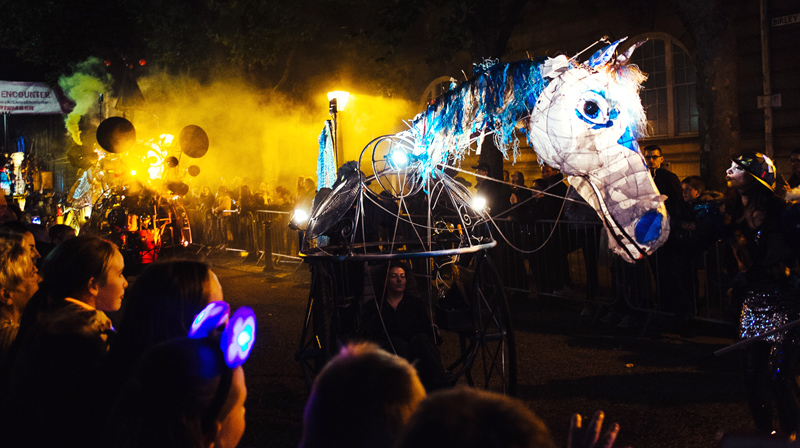 Obby Oss at Preston Procession of Light 2016 Photo copyright/credit www.ateliercreative.co.uk