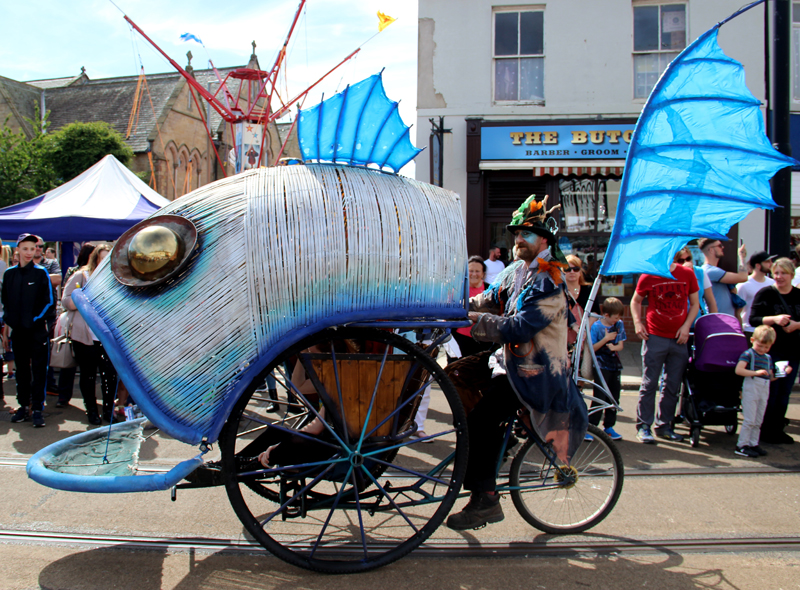 Original Fish Trike - pre lantern/LED makeover