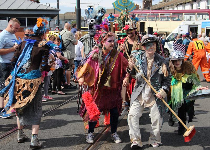 Pandamonium Parade Performers
